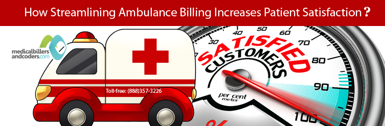 ambulance billing and patient satisfaction