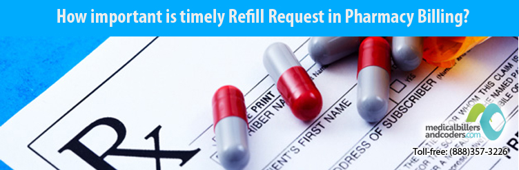 How important is timely Refill Request in Pharmacy Billing