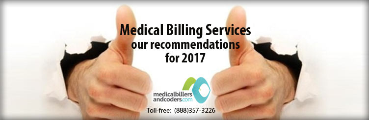 Medical billing services: our recommendations for 2017