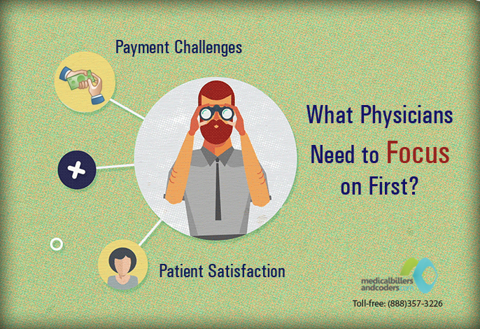Patient Satisfaction or Payment Challenges- What Physicians Need to Focus on First?