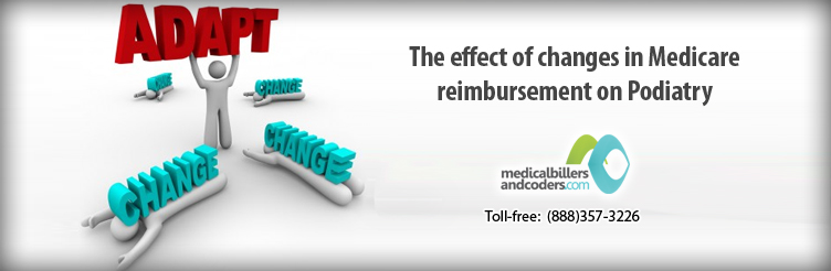 The Effect of Changes in Medicare Reimbursement on Podiatry