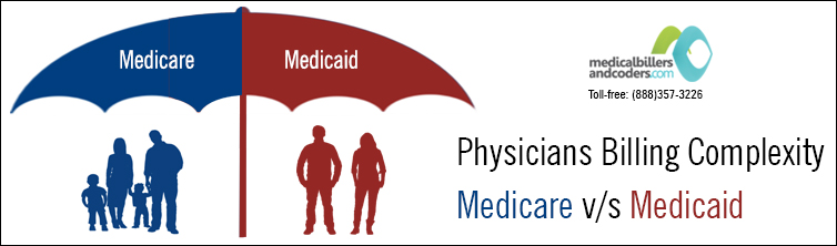Physicians Billing Complexity - Medicare v/s Medicaid