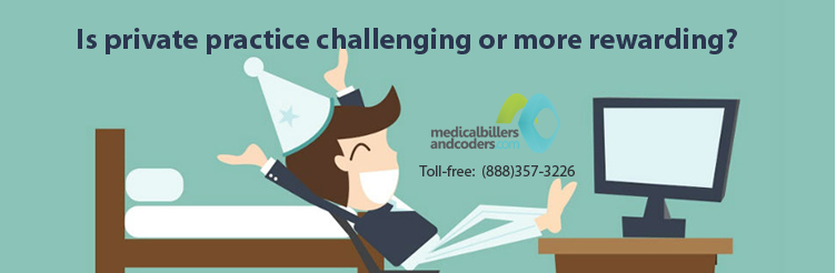 Is Private Practice Challenging or More Rewarding?