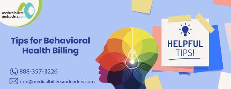 Tips for Behavioral Health Billing