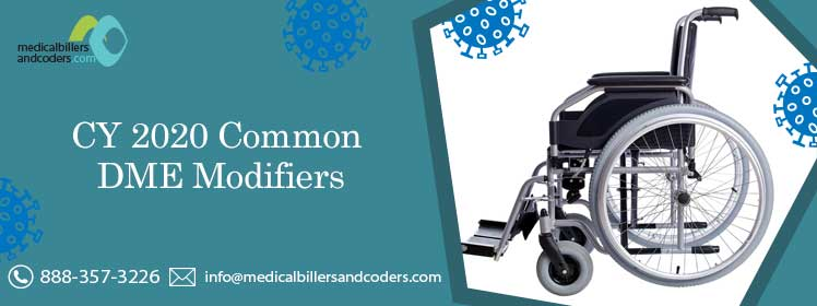 Article - CY 2020: Common DME Modifiers