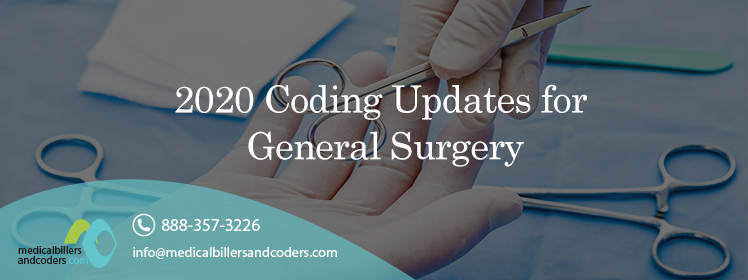 Article - 2020 Coding Updates for General Surgery