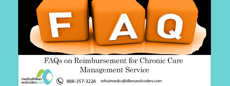 Article - FAQs on Reimbursement for Chronic Care Management Service